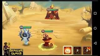 Summoners War - Smokey Awakened (Fire Jack O Lantern)