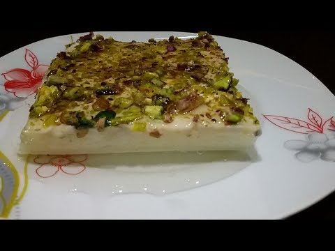 Recipe || candy Lebanon's nights || how to prepare 👌