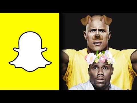 "Dwayne ""The Rock"" Johnson and Kevin Hart Visit Snapchat HQ!"