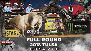 FULL ROUND: All The Wrecks, Top Rides, and Top Bulls of The Second Round of Tulsa | 2018