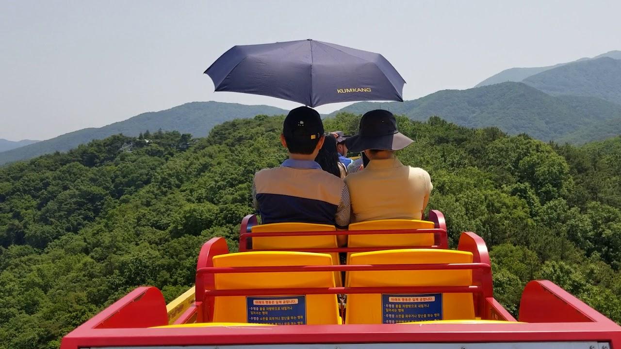[光州廣域市](東區)無等山社稷公園,單軌車 2 - YouTube