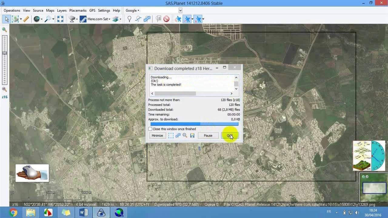 des images satellites haute résolution georeference