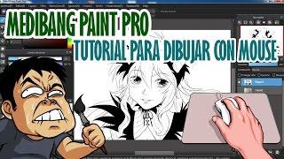 Cómo dibujar con MOUSE en Medibang Paint Pro - por @ShukeiArt