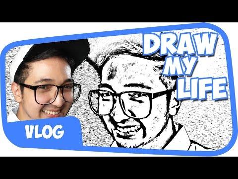 Draw My Life - EdhoZell (100K Subscribers!!)