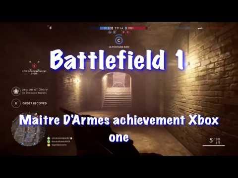 Battlefield 1 DLC maitre D'Armes achievement Xbox one