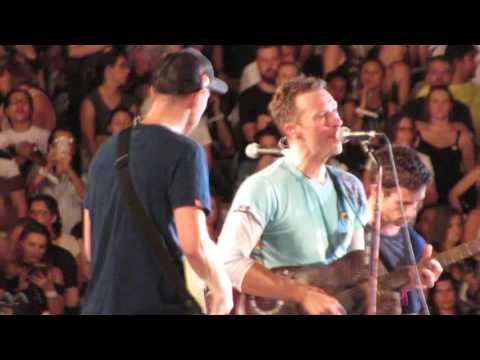 Coldplay - A Message (Rio de Janeiro 10/04/16)