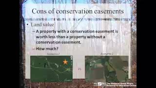 conservation easements an opportunity for your forest property