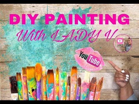 DIY Office Paintings