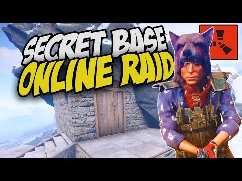 The STEALTHIEST ONLINE Raid! He Was Clueless! - Rust Solo Survival Gameplay