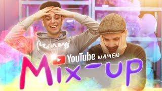 YOUTUBE NAMEN MIX-UP CHALLENGE!
