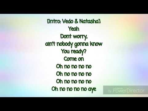 Vedo Ft. Natasha Mosley - 4 Walls (Lyrics)