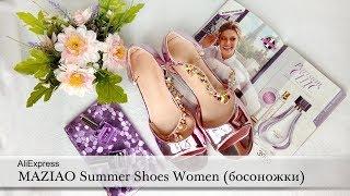 MAZIAO Decoration Sandals Summer Shoes Women (босоножки для женщин). AliExpress