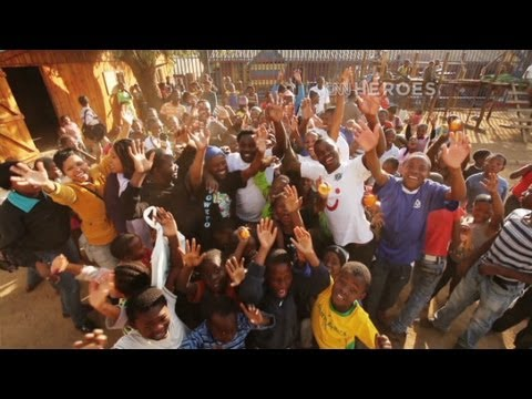 CNN Hero: Thulani Madondo helping children in South African slums