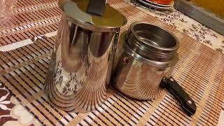 Как варить кофе самый лучший рецепт БЫСТРО. Кофеварка гейзерная с алиэкспресс. Турка с #ALIEXPRESS