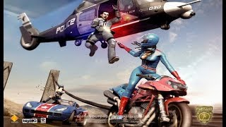 Pursuit Force: Extreme Justice Full Movie All Cutscenes