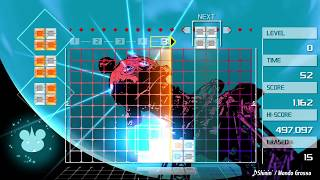 Combo Tutorial for LUMINES (REMASTERED)
