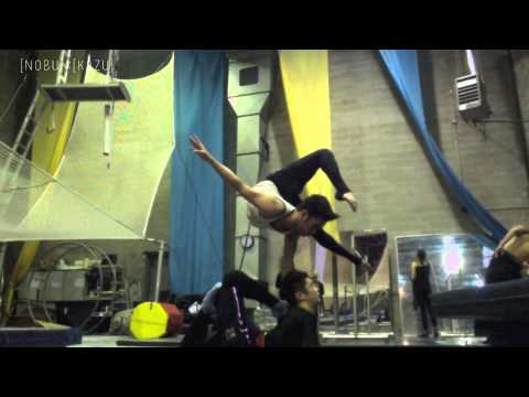 Duo Contortion Training  2013