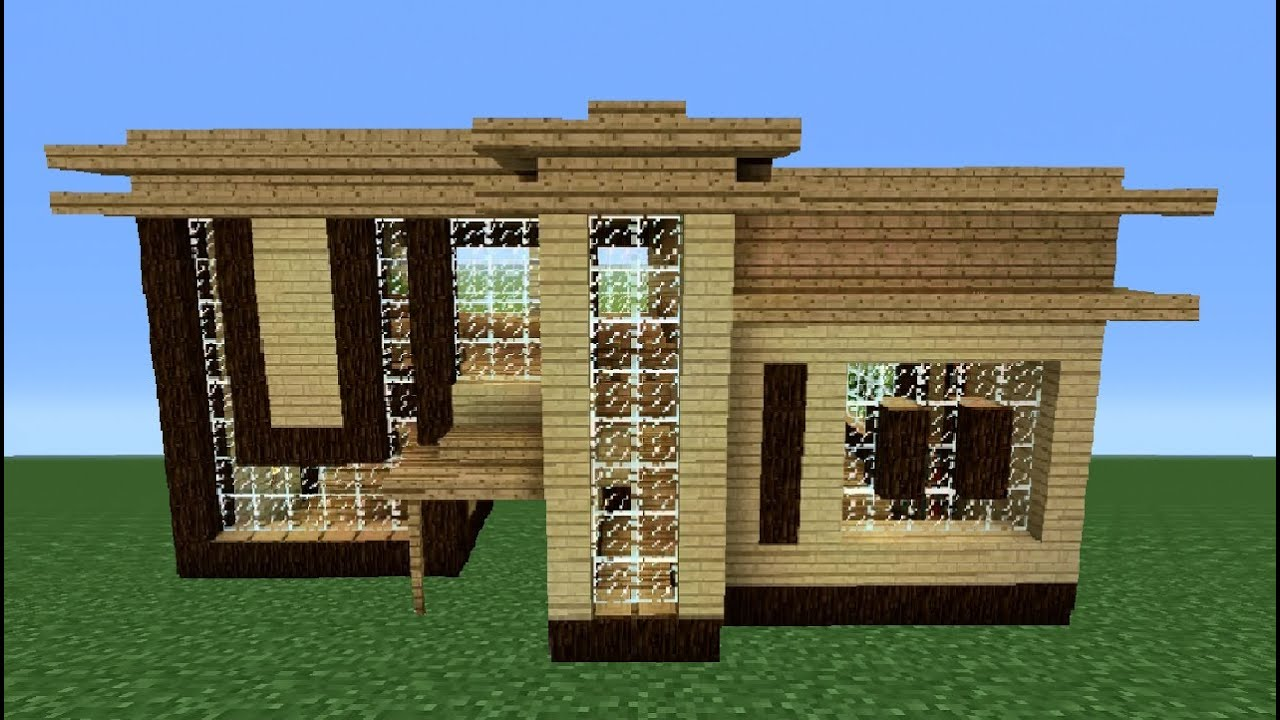 Minecraft 360 Modern House Tutorial House Number 2 YouTube