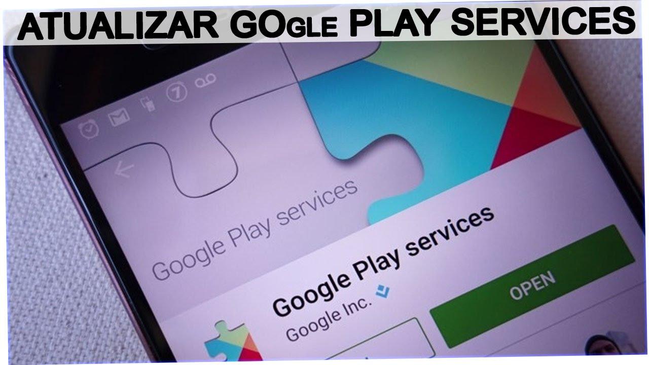 falha na desinstalação do google play services