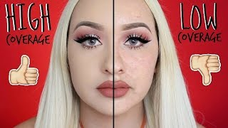 TURN YOUR FOUNDATION FROM LOW TO HIGH COVERAGE | FROM CHEAP TO HIGH END