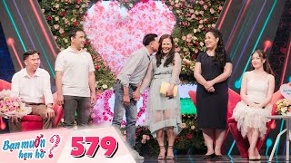 Wanna Date|Ep 579: Forgetful girl makes Quyen Linh grimace at the gift she made