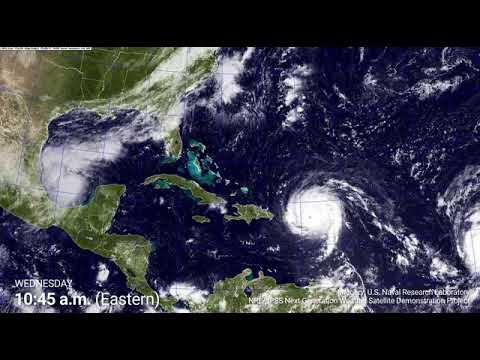 Hurricane Irma -NOAA GIF