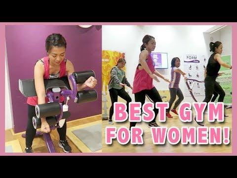 BEST GYM FOR WOMEN! ANG SAYA SA CURVES GYM MAGNOLIA! | Gen-zel Habab
