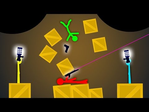 Thumbnail: IMPOSSIBLE DOUBLE BLACK HOLE!? (Stick Fight Multiplayer Gameplay)