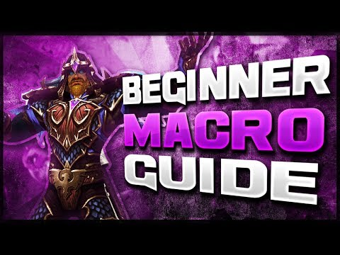 Beginners Macro Guide For 7.3! WoW PvP Legion Patch 7.3