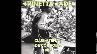 Spinetta Jade - Club Atenas de Córdoba - 1980