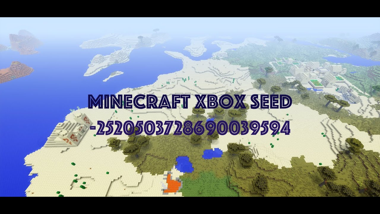 Basically Everything at Spawn Seed for Xbox One - Minecraft