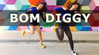 Zack Knight | Jasmin Walia | Bom Diggy Dance Cover - Monisha Lulla
