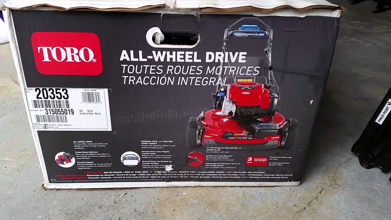 The Best Lawn Mower TORO RECYCLER 22 INCH AWD PERSONAL PACE MOWER