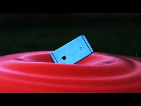 Don't Hurl iPhone 6s Plus Into Giant 6ft Water Balloon! - GizmoSlip