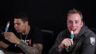 It's Nate Schmidt, Marc-Andre Fleury, Ryan Reaves, and Mark Stone vs a spicy chocolate bar in an epic battle for mouth superiority. Who will win!? For more info: ...