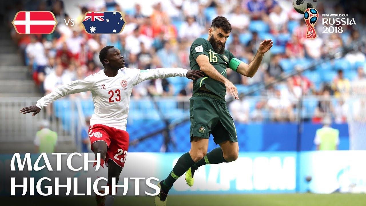 Denmark v Australia - 2018 FIFA World Cup Russia™ - Match ...