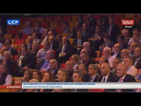 François Asselineau met en PLS les Maires de France sur LCP (22/03/2017)
