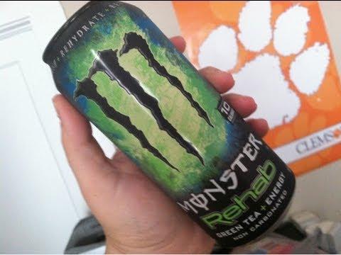 WE Shorts - Monster Rehab Green Tea + Energy