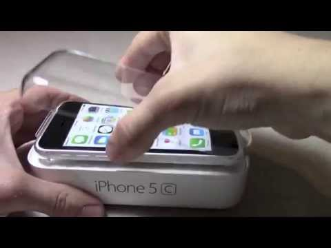 WHITE iPhone 5C UNBOXING!!!