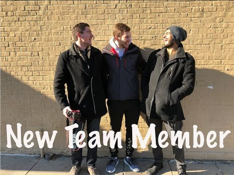 New Team Member | Dancing in Penn Station | Gains