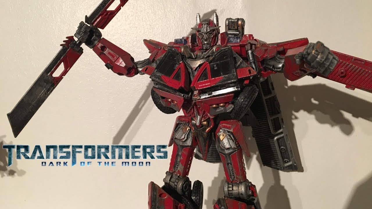 sentinel prime || custom transformers: dotm leader class sentinel
