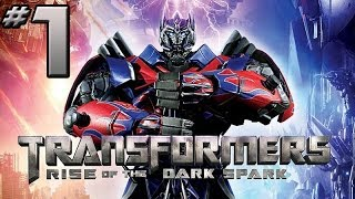 Transformers Rise of the Dark Spark Walkthrough - PART 1 - GIVEAWAYS!!! (XB1 / PS4 Gameplay)