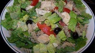 Chicken Caesar Pasta Salad - Gluten Free