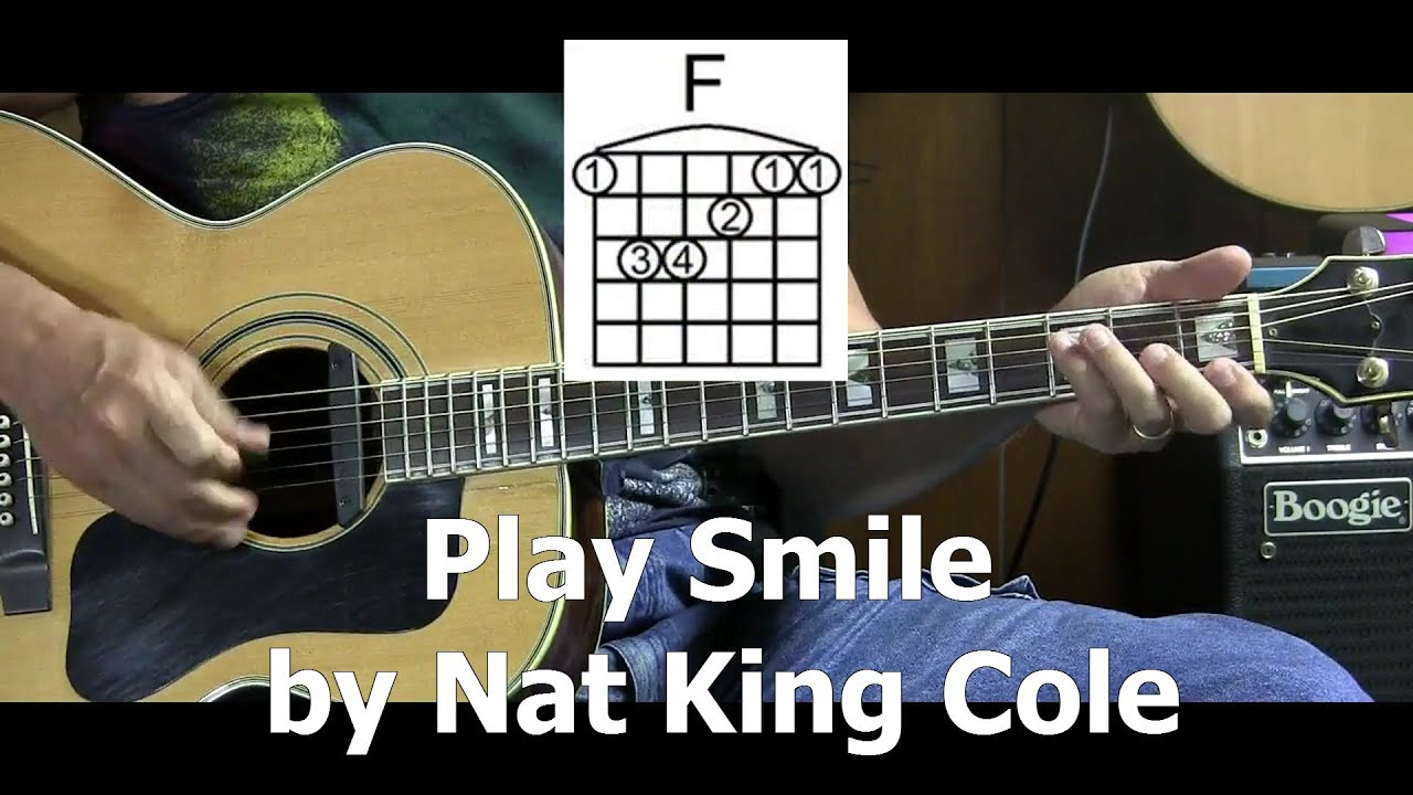 How To Play Smile By Nat King Cole L44 Youtube