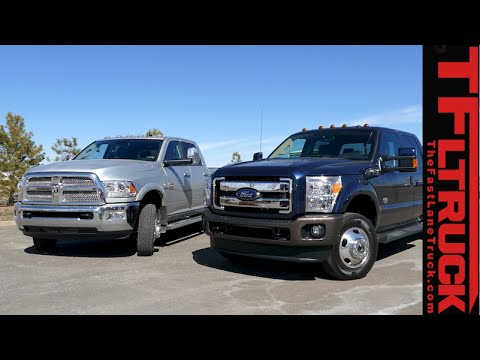 2015 RAM 3500 vs Ford F-350 MPG Review: And the most fuel efficient Dually is...