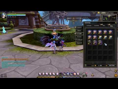 Dragon Nest INA . Open G-box pouch , Dragon Emperor Seal, Skill Initialization scroll