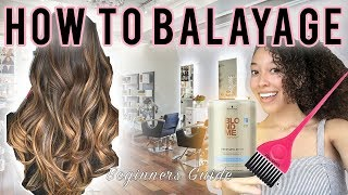 How To Balayage For Beginners!!!