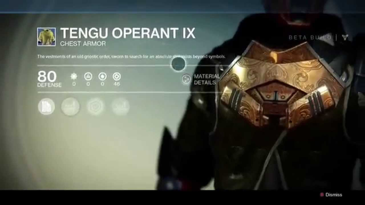 Destiny - New Warlock Exotic Chest Armor! - YouTube