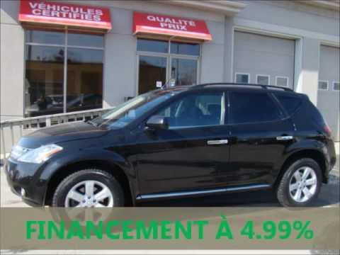 nissan murano sl 2006 vendre auto usag vehicule. Black Bedroom Furniture Sets. Home Design Ideas