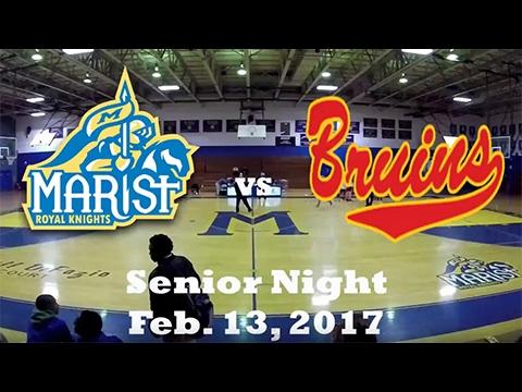 Marist HS vs North Bergen HS - Feb 13, 2017